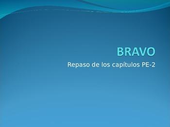 BRAVO- Realidades Para Empezar- Chapter 2 vocabulary review game