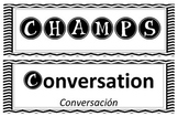 BRAVO bingo & CHAMPS icon cards