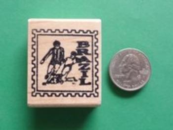 BRAZIL Country/Passport Rubber Stamp