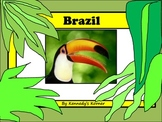 BRAZIL Power Point and Activities for Gr. 2 - 4
