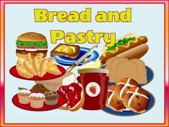 BREAD and PASTRY Flashcards, flashcards