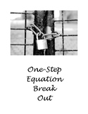 BREAK OUT! One Step Equations