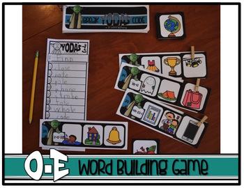 BREAK YODA'S CODE {Star Wars CVCe Word Building Game} Long O
