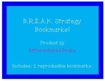 BREAK bookmark