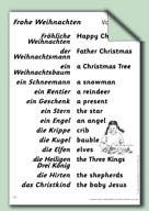 Frohe Weihnachten Activities