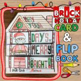 BRICK Christmas Card + Flip Book