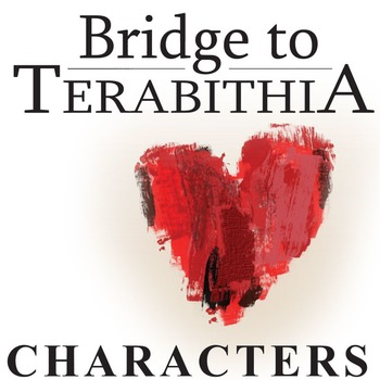 THE BRIDGE TO TERABITHIA Characters Organizer (by Katherin