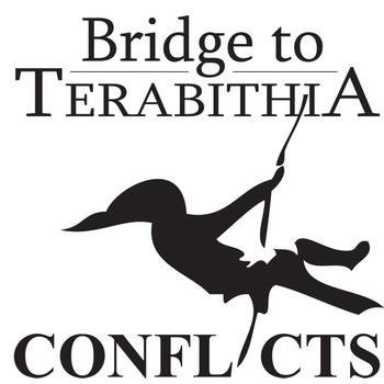 THE BRIDGE TO TERABITHIA Conflict Graphic Organizer - 6 Types