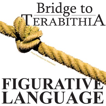 THE BRIDGE TO TERABITHIA Figurative Language Bundle