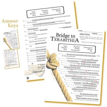 Bridge to Terabithia Word Search by sfy773 - Teaching Resources - Tes