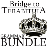 THE BRIDGE TO TERABITHIA Grammar Bundle Commas Conjs Preps