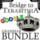 BRIDGE TO TERABITHIA Grammar Commas Conjunctions (Digital Distance Learning)