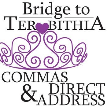 THE BRIDGE TO TERABITHIA Grammar Commas Direct Address