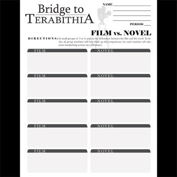 THE BRIDGE TO TERABITHIA Movie vs. Novel Comparison