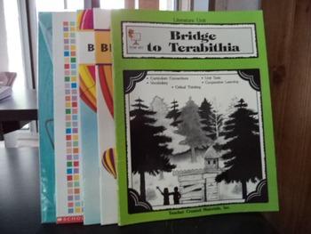 BRIDGE TO TERABITHIA (Set of 8 Items)