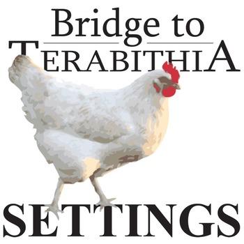THE BRIDGE TO TERABITHIA Setting Organizer - Physical & Emotional