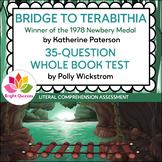 BRIDGE TO TERABITHIA | PRINTABLE WHOLE BOOK TEST | 35 MULT