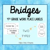 BRIDGES- 4th Grade- Work Place Labels