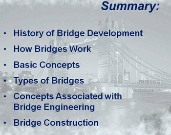 BRIDGES BASIC ELEMENTS