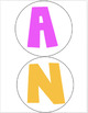 BRIGHT Anchor Chart Circle Banner Set