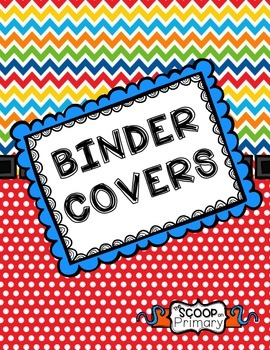 BRIGHT Binder Covers