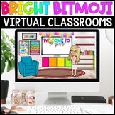 BRIGHT Bitmoji Virtual Classroom Templates - Distance Learning