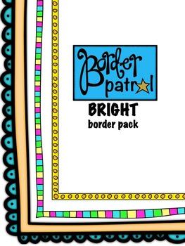 BRIGHT Borders & Frames