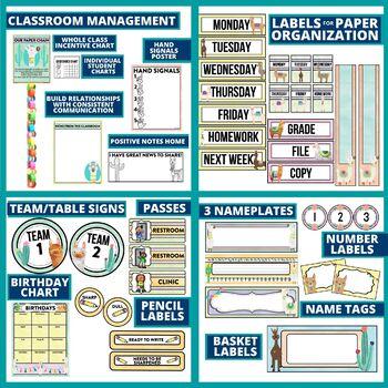 BRIGHT & CHEERFUL - classroom design bundle (polka dot theme)