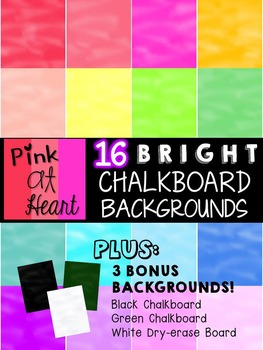 BRIGHT, Chalkboard Backgrounds