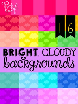 BRIGHT, Cloudy Backgrounds
