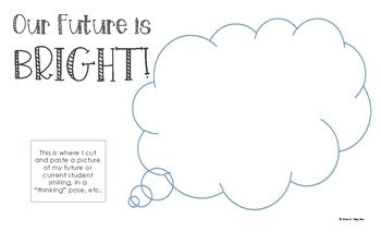 BRIGHT Futures Bulletin Board/Door Decoration