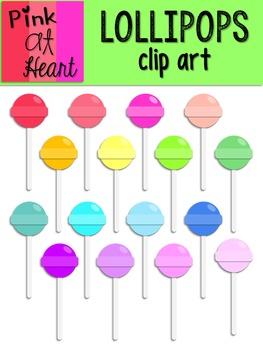 Lollipops Clip Art