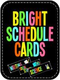 BRIGHT Schedule Cards!