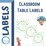 BRIGHT Table Labels