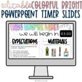 Bright Powerpoint Timer Slides