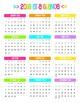 BRIGHTS 2017-2018 At a Glance Calendars