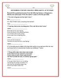 BRITISH &  IRISH LITERATURE: QUOTATION/EXCERPTS CHALLENGE/QUIZ