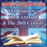 BRITISH POETRY COURSE: ROMANTICS, 19TH & 20TH CENTURY UNITS