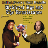 BRITISH POETRY COURSE: MEDIEVAL & RENAISSANCE POETRY UNITS