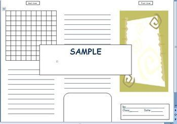 BROCHURE TEMPLATE FOR ANY PROJECT