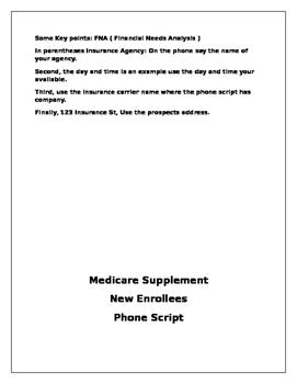 BROKER INSURANCE AGENT PHONE SCRIPTS