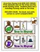 BROWN BEAR RHYMING ACTIVITIES- BROWN BEAR LITERACY CENTER