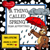 BROWN BEAR SPRING AAC/PECS Early Reader Pre-K Speech