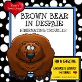 BROWN BEAR WINTER HIBERNATE  Early Reader