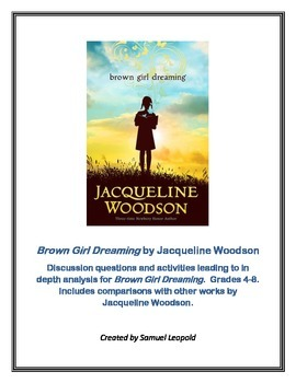 BROWN GIRL DREAMING NOVEL UNIT