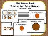 BROWN Interactive Color Sight Word Reader; Kindergarten; Autism;