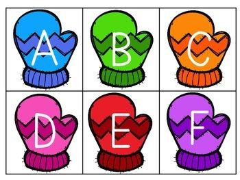 BRRR!! Letter Identification Game