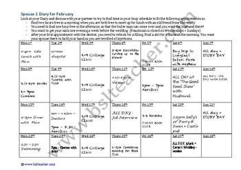 BSL Level 2 Diary Pair Task