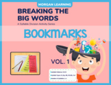 BTBW Syllable Division Bookmarks - Set 1 VC/CV Pattern (Al