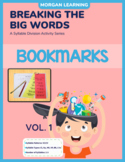 BTBW Syllable Division Bookmarks-Set 1 VC/CV Pattern (All